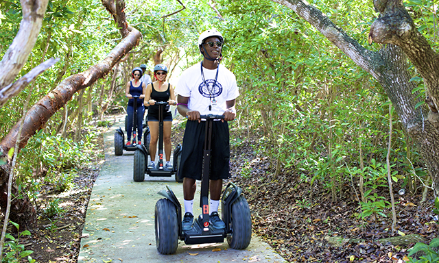 Blue Lagoon Island via Segway and Beach Day